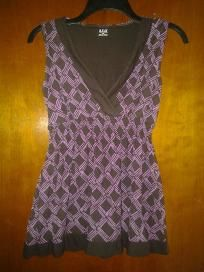 """Spadex ana top. Blouse beautiful free ship for 12.99size m chest34"""" west34 """"hip44""""26"""""""