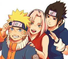 Team 7 Naruto Sasuke Sakura, Naruto Uzumaki Shippuden, Naruto Cute, Naruto Funny, Naruto Team 7, Naruto Fan Art, Wallpapers Naruto, Naruto Wallpaper, Chibi