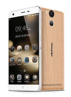 Ulefone Power MT6753 Octa Core Android 5.1 4G 3GB 16GB Smartphone 5.5 inch 13MP 6050mAh Touch ID Wooden