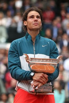 Rafa rules at Roland Garros | Rafael Nadal became the first man with eight titles at the same grand slam tournament when he beat fellow Spaniard David Ferrer in Sunday's French Open final. #Rafa #Nadal #RG13 #FrenchOpen