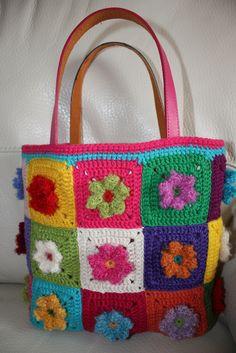 bolsa -crochet