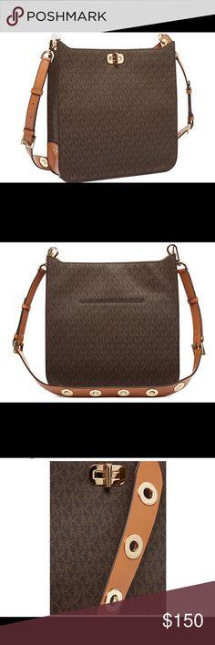Authentic Michael Kors Sullivan Crossbody - Brown - 10 out of 10 Michael Kors Bags Crossbody Bags