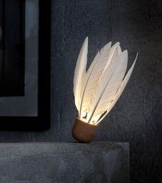 Godefroy de Virieu Shuttlecock Lamp: Remodelista