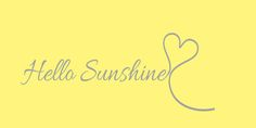 Hello Sunshine Framed Art Print by Kimpressions - Vector Black - Facebook Banner, Facebook Timeline, Sunshine Wallpaper, Fb Cover Photos, Iphone Skins, Iphone 8, Cover Quotes, Power Of Positivity, Hello Sunshine