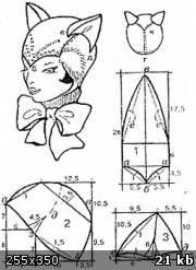 Береты и шапочки для девочек