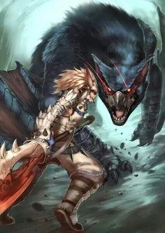 Monster Hunter art