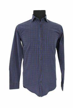 The Brown Blue Diamond Shirt