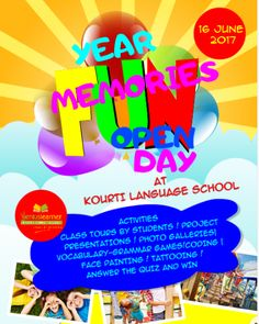 Open day June 2017 Opening Day, Grammar, Presentation, June, Student, Memories, Activities, School, Memoirs