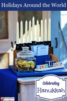 Holidays Around the World: Hanukkah @Education Possible  Join us as we celebrate the holidays and learn about various cultures. Includes hands-on activities.   This is a fun way to study geography!