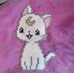 Artemis - Sailor Moon perler beads by ZombieLolitaPrincess