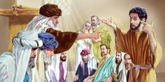 The logic of the former blind man enrages the Pharisees. Just as his parents had feared, the Pharisees expel him from the synagogue.