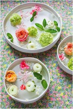 Stretch that flower budget -- lovely on a coffee table