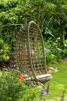 WICKER HANGING SEAT