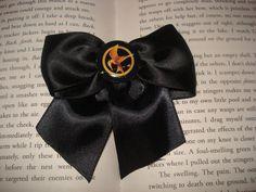 The Hunger Games Hair BowMockingjay by Emmandjensflowers on Etsy, $4.00