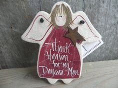 Say Thank You!  Daycare Mom Gift Angel Handpainted Salt by cookiedoughcreations, $6.95 https://www.etsy.com/listing/120575989/daycare-mom-gift-angel-handpainted-salt?ref=shop_home_active