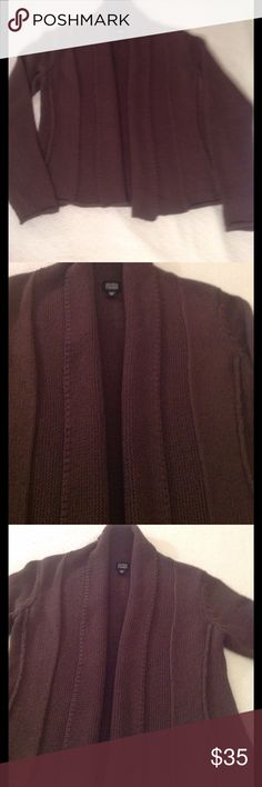 EILEEN FISHER Beautiful Knit open cardigan EILEEN FISHER QUALITY KNIT CARDIGAN  this material lays so nicely in great condition Eileen Fisher Sweaters Cardigans