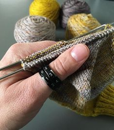 New favorite knitting gadget . the Knitter's Pride Row Counter Ring — jen geigley knits The Row, Knit Crochet, Great Gifts, Pride, Rings For Men, Gadgets, Counter, Knitting, Pattern