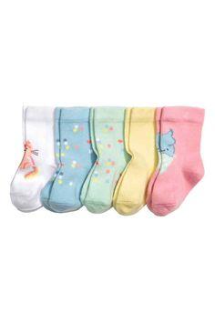 5 paria sukkia - Vaaleansininen - Kids | H&M FI 1