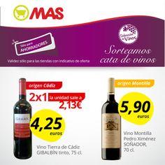 Hasta el 28 de marzo, oferta especial en los vinos de origen andaluz. Además, puedes ganar un curso de cata!