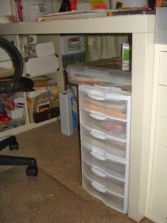 A Creative Operation: Arc Planner Paper Storage Idea