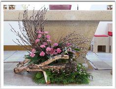 Rendezvények funnel cake a la mode - Funnel Cake Altar Flowers, Church Flowers, Big Flowers, Beautiful Flowers, Dried Flower Bouquet, Dried Flowers, Large Flower Arrangements, Valentines Flowers, Altar Decorations