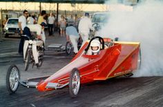 Leland Kolb's Wedge dragster. Man, I loved this thing.