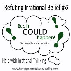 Learn how to deal with worry in Refuting Irrational Beliefs: But it COULD happen!