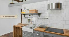 Poddasze zabytkowej kamienicy #attic #home #decor #interiordesign #design #idea #inspiration #kitchen #appartment #appartment #poddasze #kuchnia #inspiration