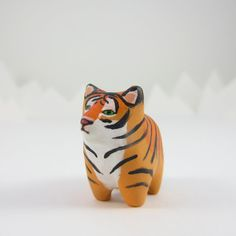 Tiger pocket totem figurine by HandyMaiden on Etsy, $32.00. INCEPTION!!!!!!!!