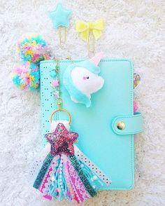 kikkik planner love this unicorn