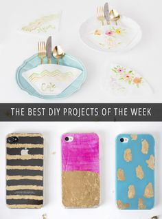Easy #DIY projects with supplies you already have