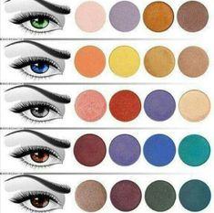 Teoría del Color en el Maquillaje de Ojos - Curso de Maquillaje Online