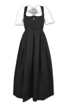 Amazon.com: Turi Landhausmode Dirndl In Black -Women: Clothing