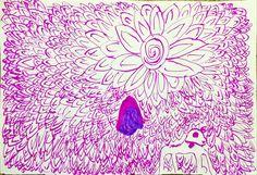 Liliana's flower pattern (aged 6)