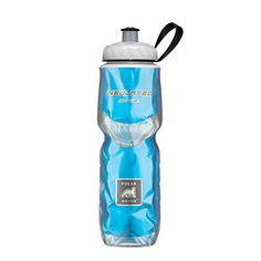 Polar Bottle Insulated Water Bottle 24 oz - BPA-Free Cycling and Sports Water Bottle - Dishwasher & Freezer Safe (Blue, 24 ounce) 24 Oz Water Bottle, Bike Water Bottle, Bpa Free Water Bottles, Insulated Water Bottle, Cool Bicycles, Cool Bikes, Keep Cool, Cleaning Supplies, Blue