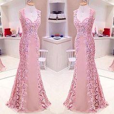 No photo description available. Pink Prom Dresses, 15 Dresses, Elegant Dresses, Cute Dresses, Beautiful Dresses, Fashion Dresses, Bridesmaid Dresses, Formal Dresses, Pink Skirts