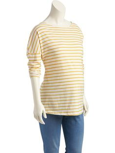 Maternity Striped Tee Product Image