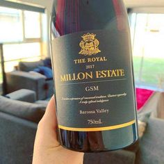 This Millon Estate 2017 The Royal GSM hails from SA's Barossa Valley and comes in at a nice 14% abv. Aka a great winter warmer ;) Read More on the blog!   #wine #wineblog #winetastingnotes