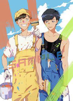 「◆osomatsusan postcards◆」/「COLAKA」の漫画 [pixiv]