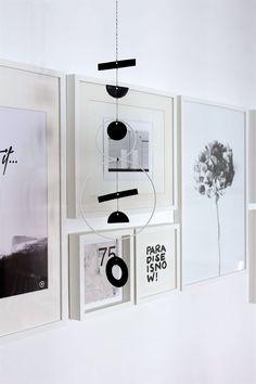 DIY Hanging Art {Mobile}