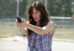 This undated publicity photo released by AMC shows Sarah Wayne Callies as Lori Grimes in a scene from AMCs TV show, The Walking Dead, Season Episode Sarah Wayne Callies, Walking Dead Season 4, The Walking Dead 2, Rick Grimes, Amc Shows, Back Photos, Prison Break, Season 3, Call Me