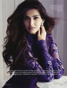 Sonam Kapoor Vogue India November