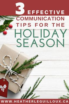 Learn three communication tips of listening, allowing silence, and providing empathy at your next holiday gathering that can be helpful for providing better communication between you and your loved ones so you can truly enjoy the holidays. Mental Health Blogs, Health Resources, Effective Communication, Good Communication, Christmas Activities, Christmas Traditions, Relationship Advice, Relationship Improvement, Relationships