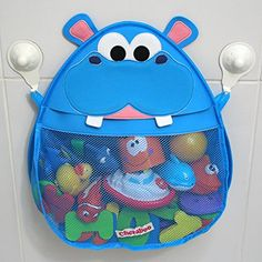 [Toy Storage for Boys] Hurley Hippo Bath Toy Organizer (Blue) -- To view further for this item, visit the image link. (This is an affiliate link) Bath Toy Storage, Bath Toy Organization, Bath Organizer, Bath Caddy, Organizing, Kids Bath Toys, Baby Bath Toys, Toy Net, Baby Shower Party Games