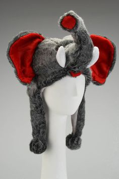 Nana Knits Elephant Hat In Gray - Beyond the Rack