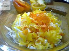 ΠΟΛΙΤΙΚΗ ΣΑΛΑΤΑ – Koykoycook Salad Recipes, Macaroni And Cheese, Grains, Rice, Lunch, Breakfast, Ethnic Recipes, Food, Morning Coffee