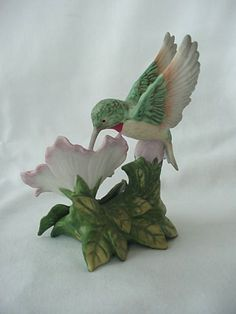 Homco Hummingbird Figurine 1429 Home Interior from All N The Family Collectibles