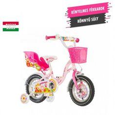 KPC Princess 12 királylányos gyerek kerékpár Tricycle