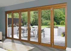 Bi Fold Doors Allow The Maximum Use Of Space