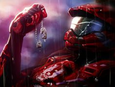 I tried to fight this agony. by WinterSpectrum Halo 3, Halo Game, Halo Reach, Video Game Art, Video Games, Odst Halo, Gundam, Halo Armor, Halo Spartan Armor